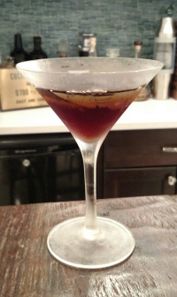 Sicilian (Black) Manhattan