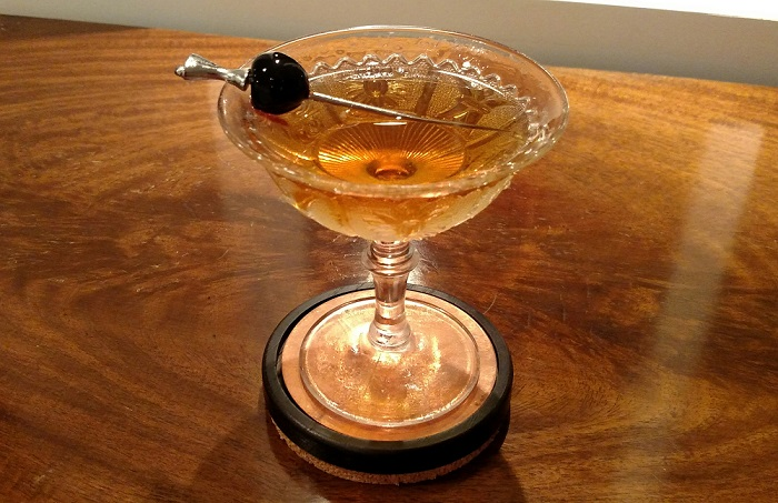 Not What You Think Drink -- The Diamondback - Wulf Cocktail Den